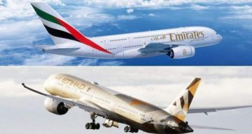 Emirates ed Etihad