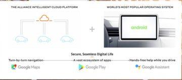 Renault-Nissan-Mitsubishi e Google