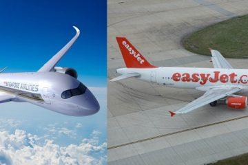 easyJet e Singapore Airlines