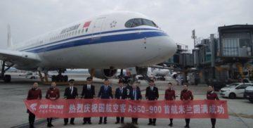 Air China sceglie Malpensa