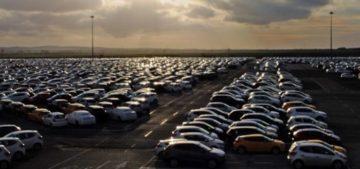 mercato dell'auto negativo