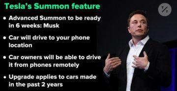 Tesla Summon