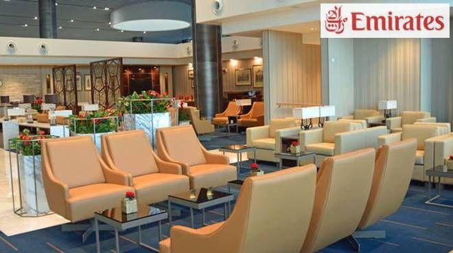 Emirates apre una lounge