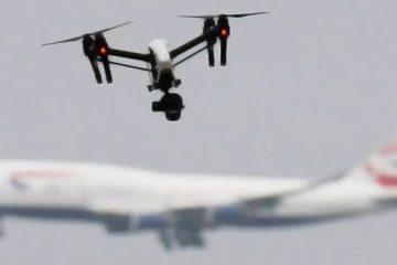 allarme droni
