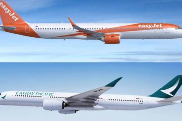 Cathay entra in worldwide by easyjet