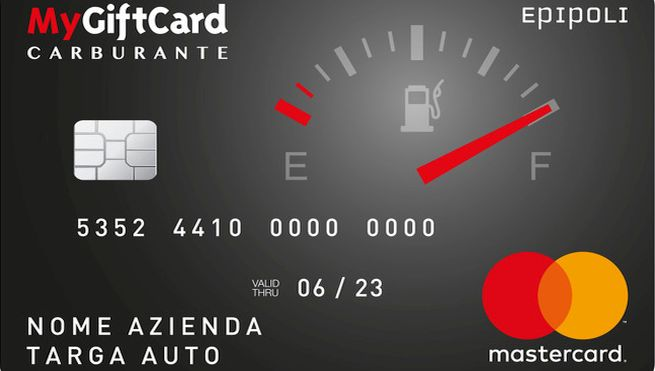 MyGiftCard Carburante Ricaricabile