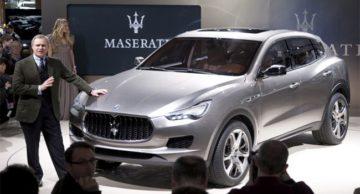 Retromarcia Maserati