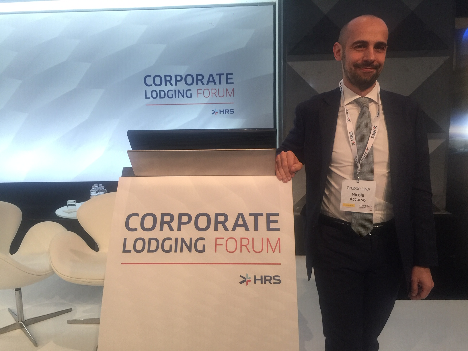 Nicola Accurso - Gruppo UNA - HRS Corporate Lodging Forum 2019 Milano