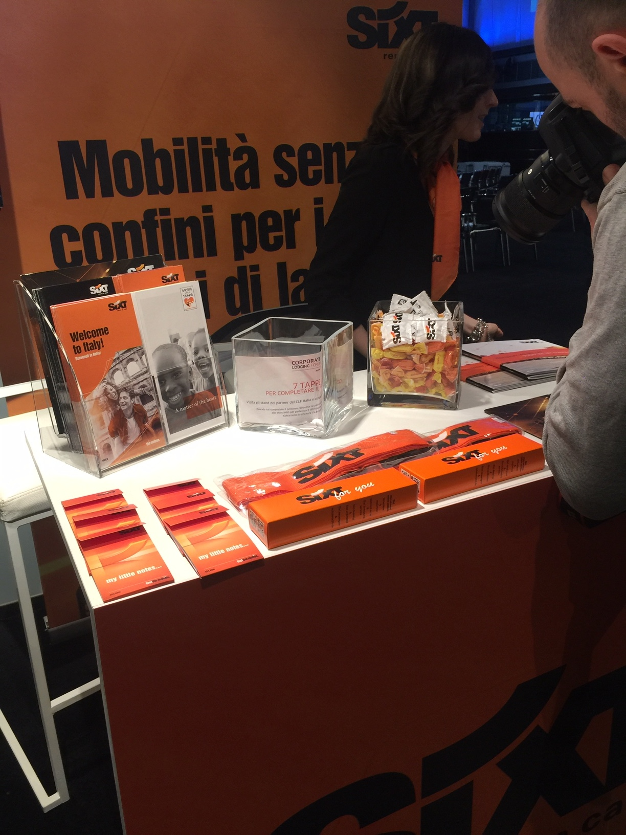 Stand Sixt - HRS Corporate Lodging Forum 2019 Milano