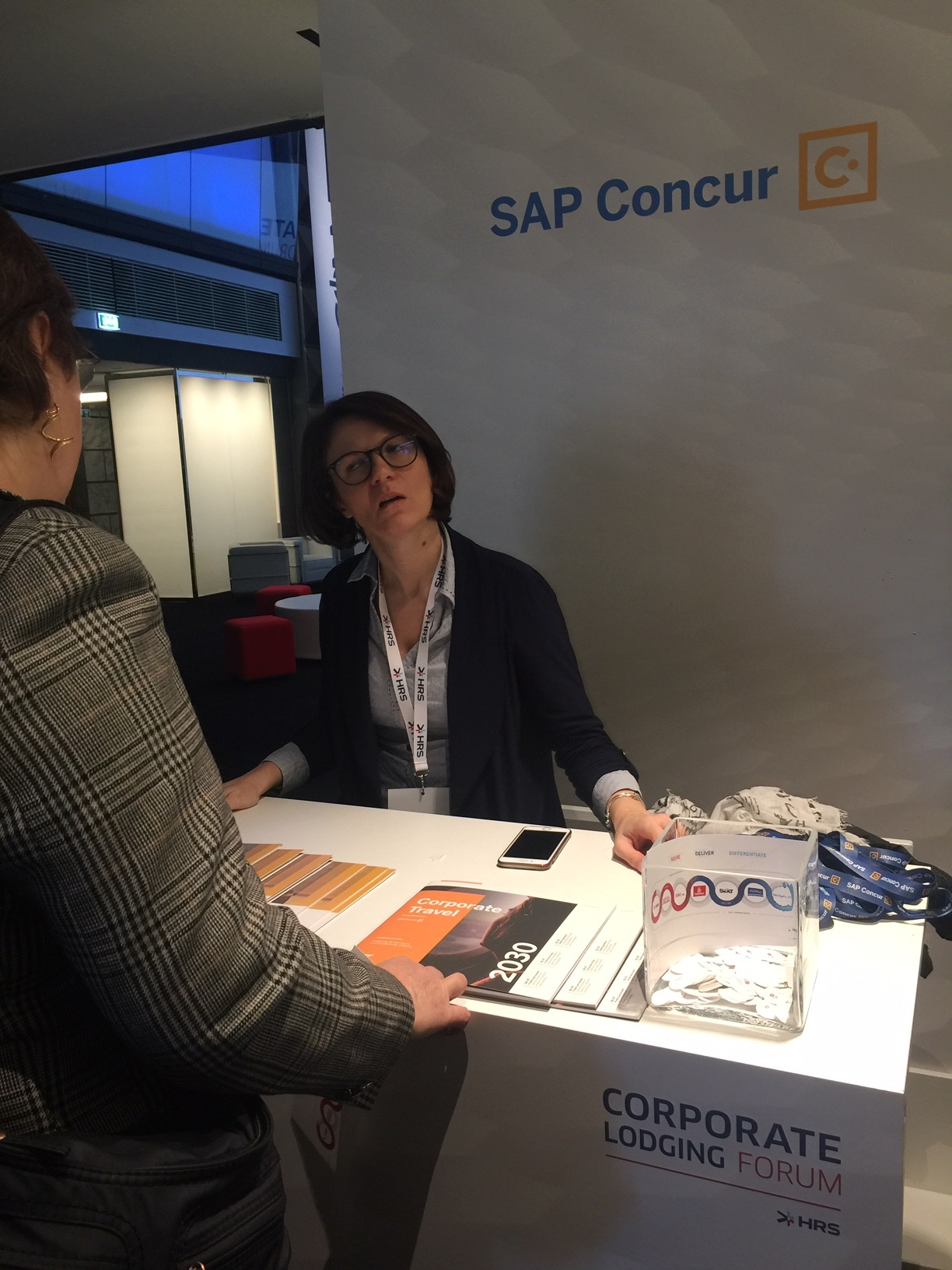 Stand SAP Concur - HRS Corporate Lodging Forum 2019 Milano