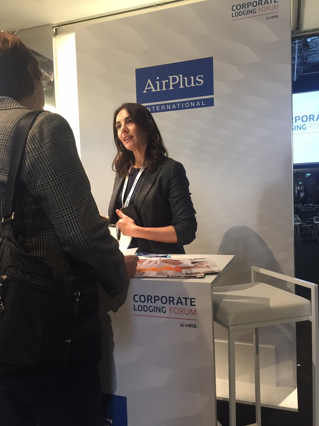 Stand Airplus - HRS Corporate Lodging Forum 2019 Milano