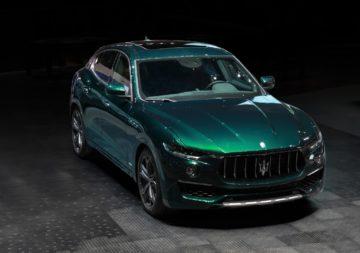 Maserati design