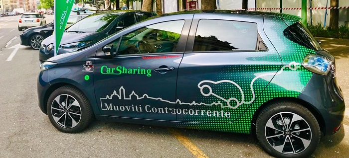 sharing e-mobility