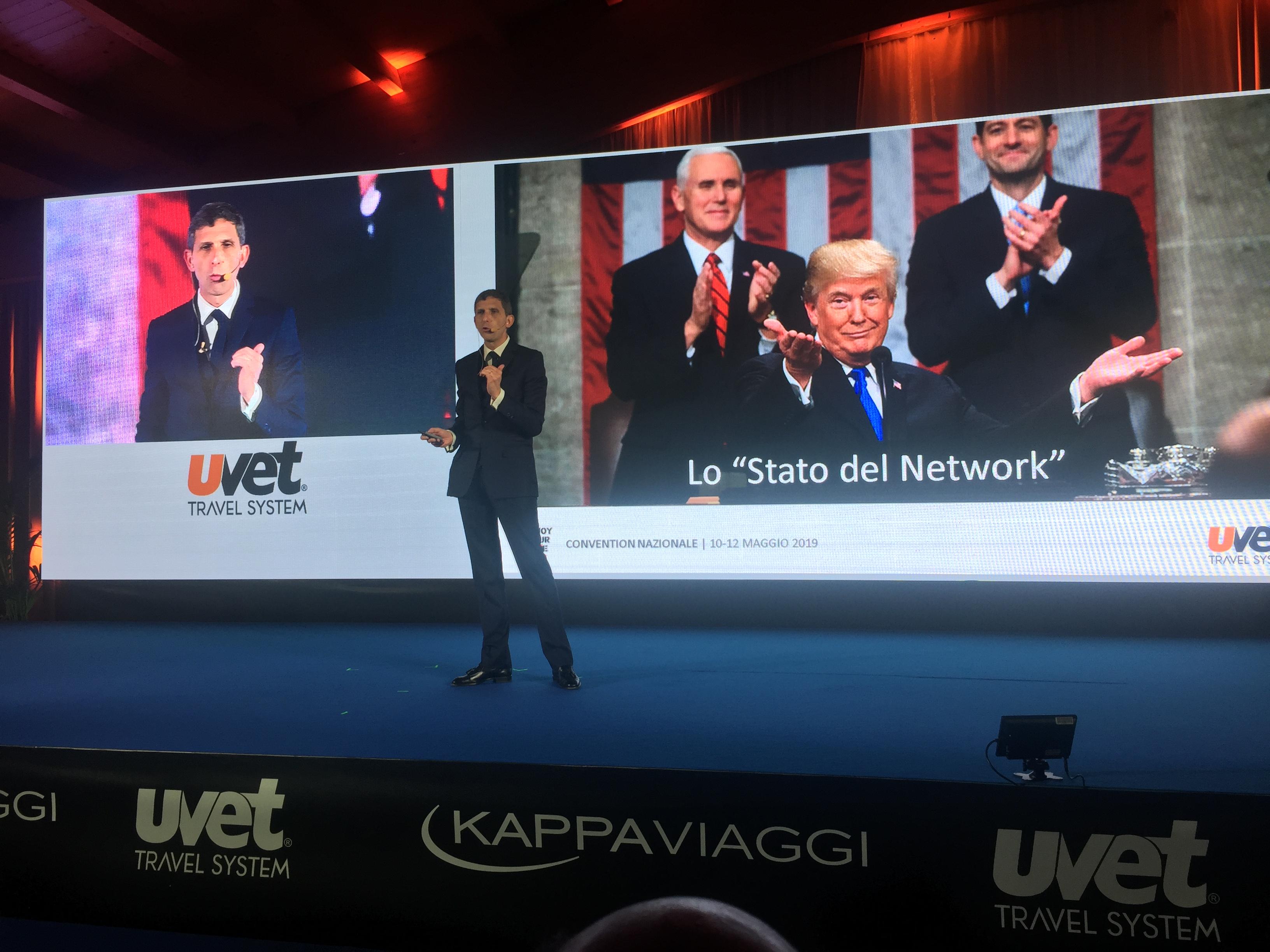 Andrea Gilardi, DG Uvet Travel System