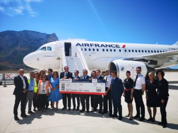 Air France collega Palermo e Parigi
