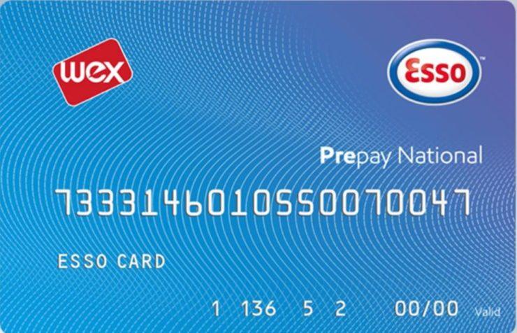 Esso card prepay