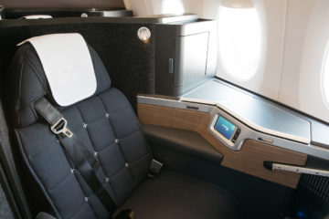 business class di British Airways