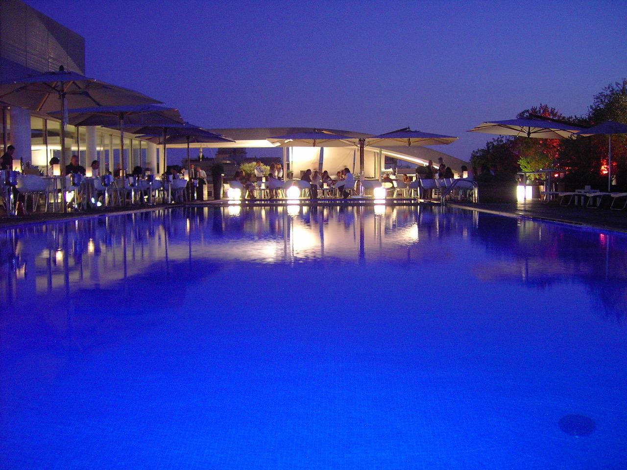 Radisson Blue Es Hotel Rome Per Eventi In Terrazza Con Chef
