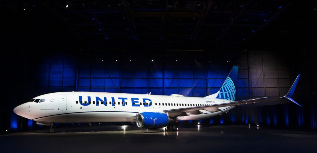 United Airlines sulla Londra New York