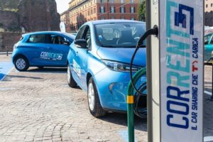 Il car sharing elettrico a Bologna