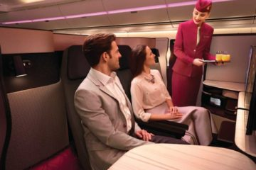 Qatar Airways e la Qsuite