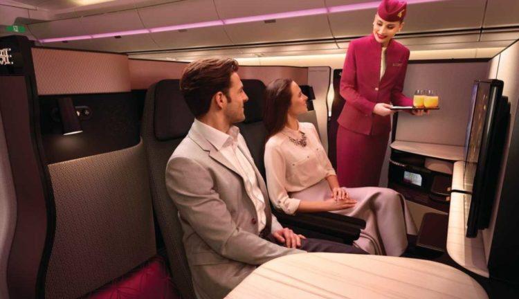 Qatar Airways e la Qsuite