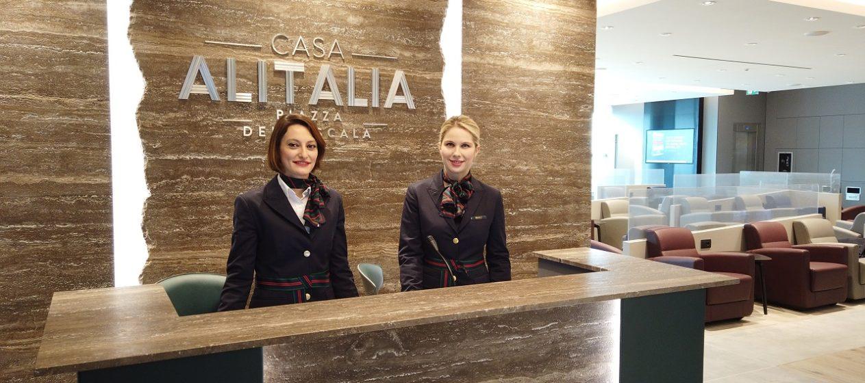 Alitalia a Milano Linate
