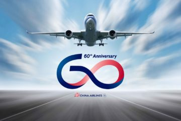 60 anni di china airlines