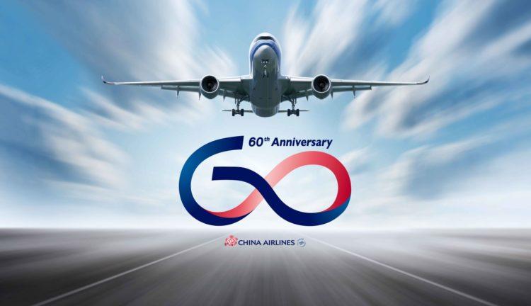 60 anni di china airlines
