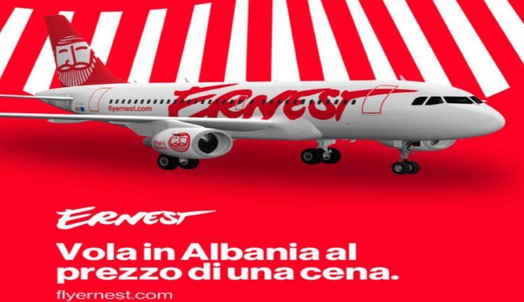 informazioni su ernest airlines