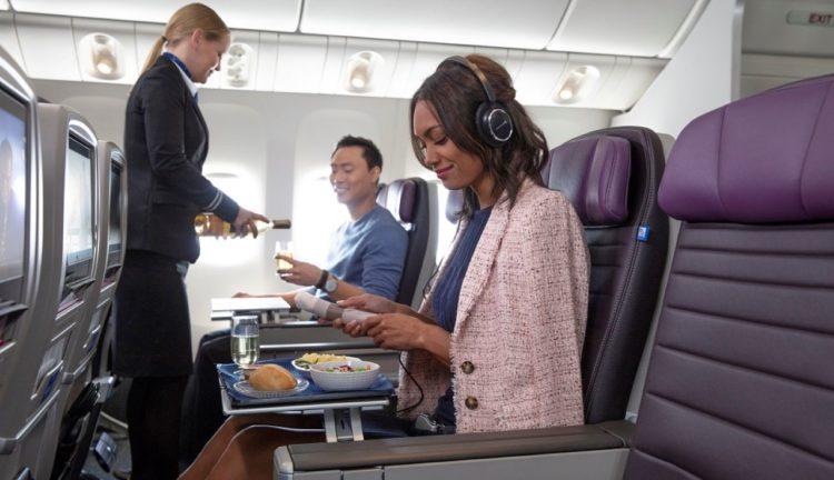 Premium Plus di United Airlines