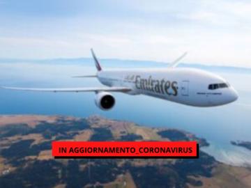 Emirates torna a volare dal 6 aprile