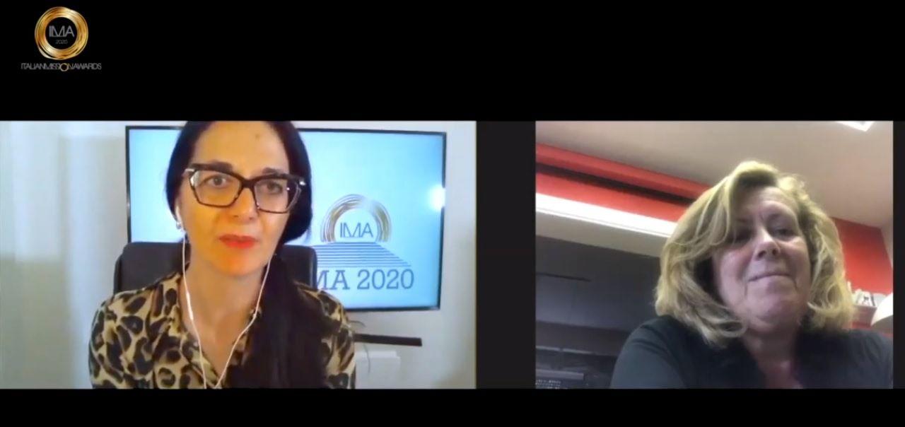 Panel con Antonella Zivillica, direttrice RP e stampa di Italo Treno/NTV