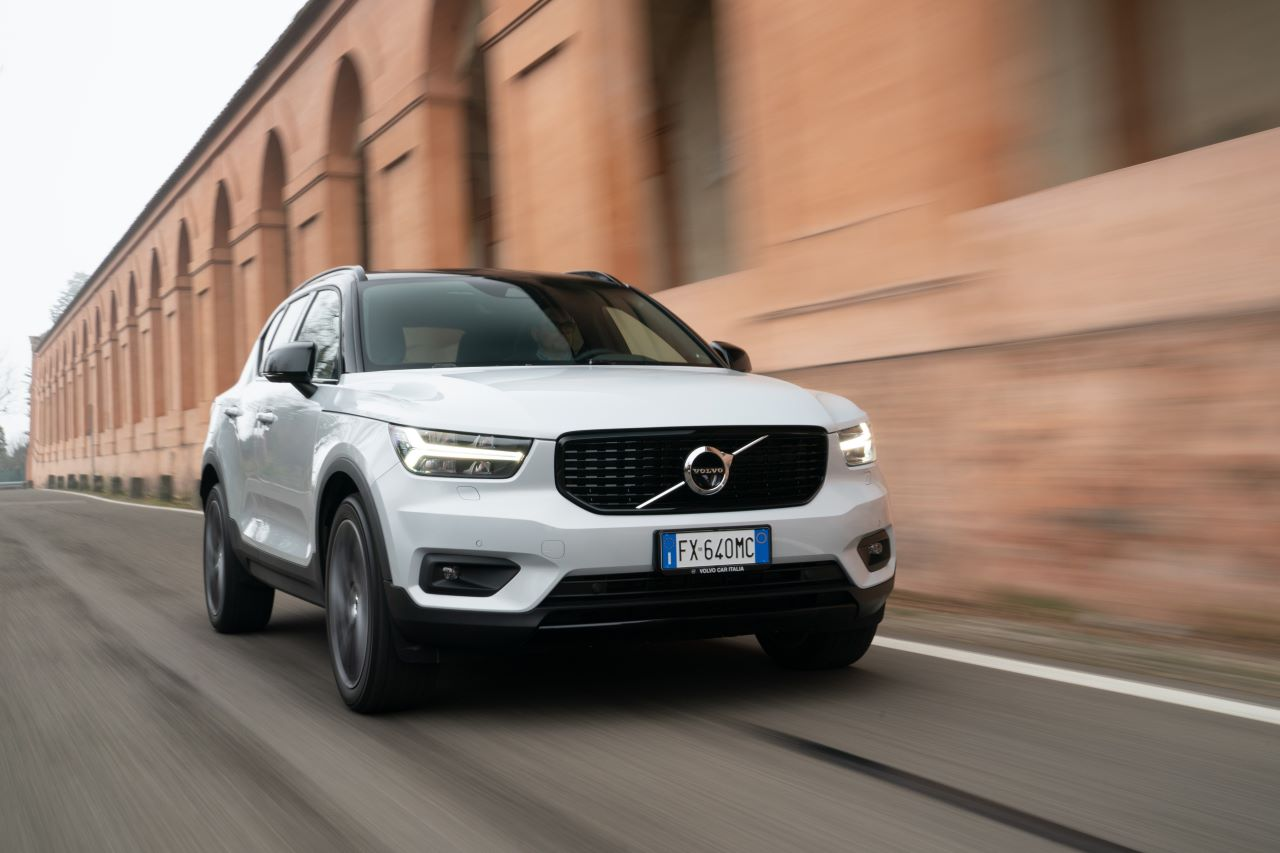 Volvo XC40 Recharge T% plug in hybrid in test drive