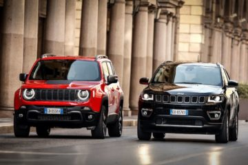 Jeep Renegade e Compass 4Xe