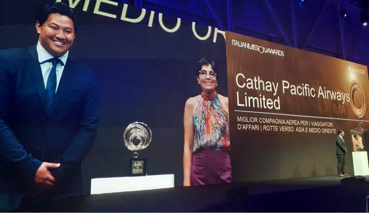 Cathay Pacific premiata a Ima