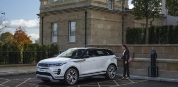 Range Rover Evoque ibrida plug in