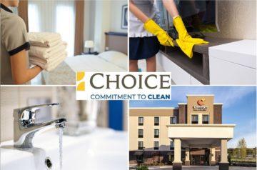 La sanificazione di Choice Hotels
