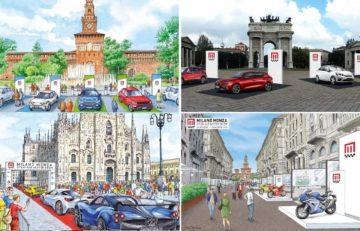 Test drive di auto elettriche al Milano Monza Motor Show