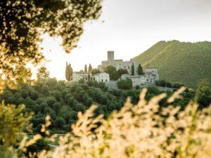 Il castello di Antognolla in Umbria