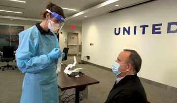 Test Covid di United Airlines