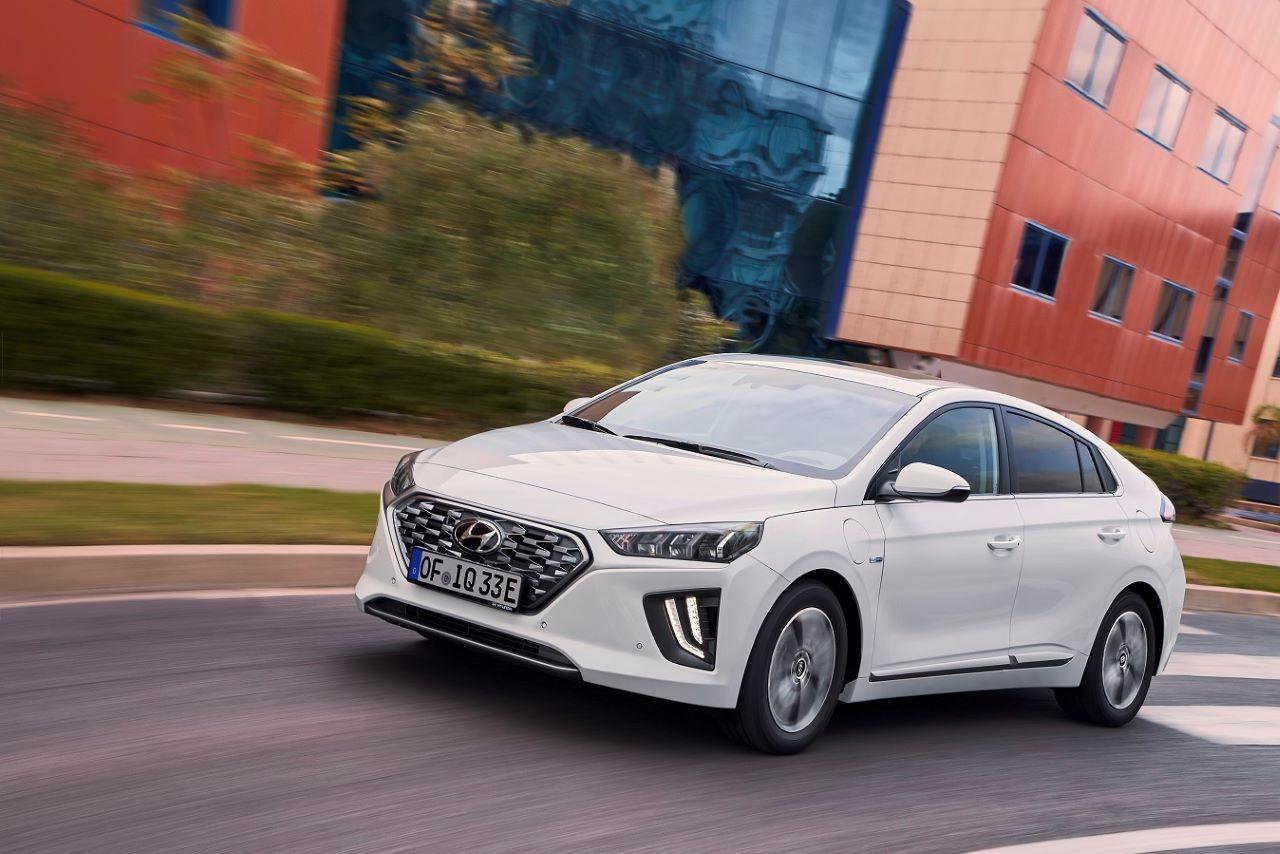Nuova Hyundai IONIQ Plug in hybrid