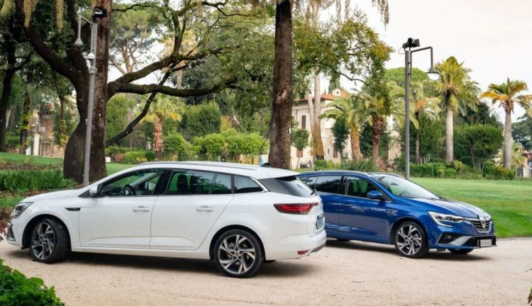 Renault Megane Sporter plug in hybrid