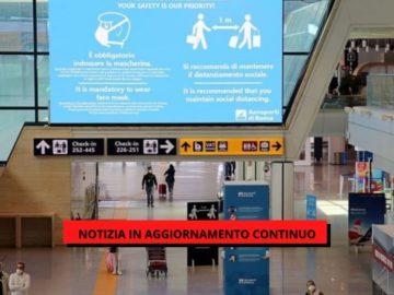 tamponi in aeroporto