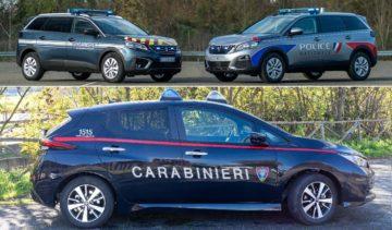 Flotte auto delle forze dell'ordine