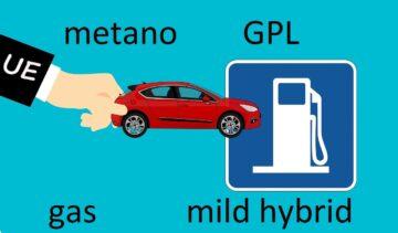 Auto a gas ibride
