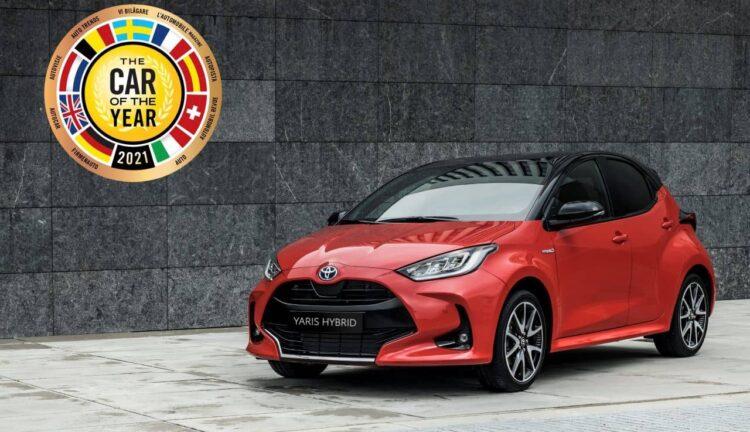 Toyota Yaris auto dell'anno 2021