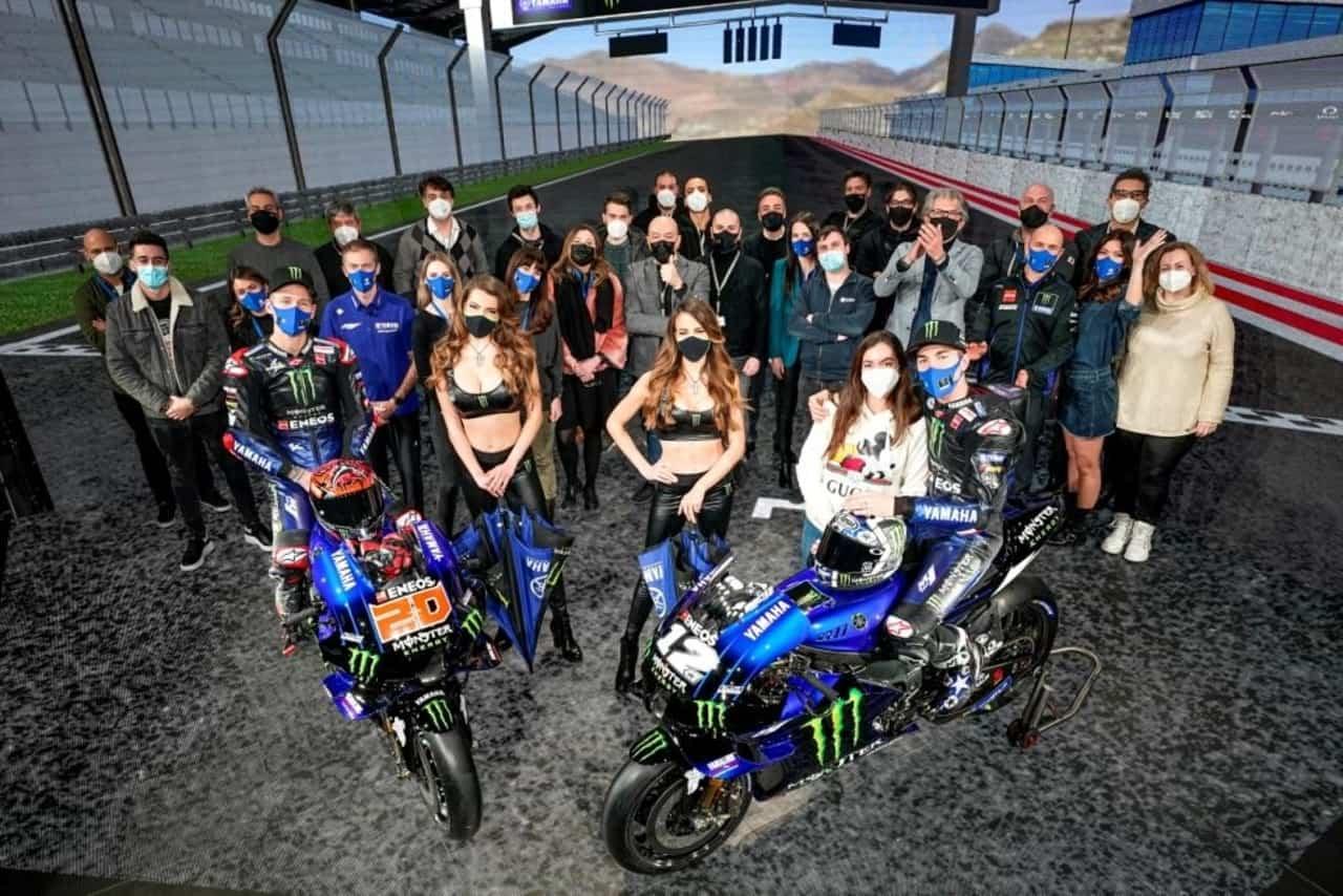 Il team di Yamaha Motor Racing