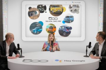 Rossoevolution cura l'evento Hey Google di Fiat 500