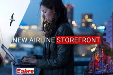 Sabre lancia airline storefront